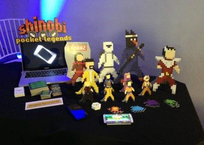 Participação no Shinobi Spirit 2015, com a divulgação de projetos (BeLudic Games)