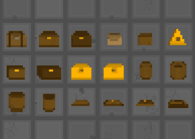 Items in Pixel Art