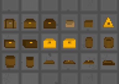 Itens em Pixel Art